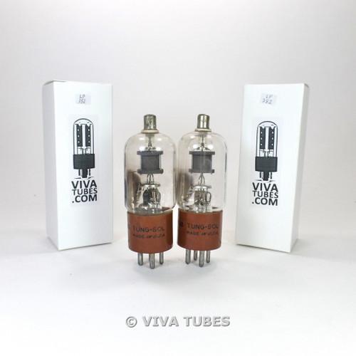 Tests NOS Date Matched Pair Tung-Sol USA JAN-CTL-3B24WA Grey Plate Vacuum Tubes