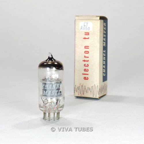 True NOS NIB Channel Master Japan 6AN8 Grey Plate Top O Get Vacuum Tube 100%+