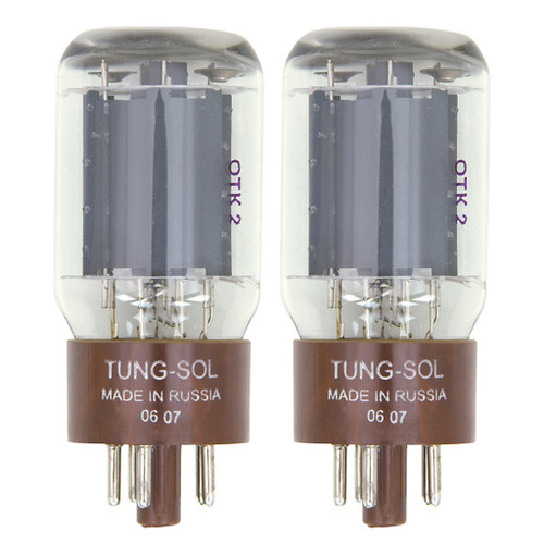 New Matched Pair (2) Tung-Sol 5881 Reissue Vacuum Tubes