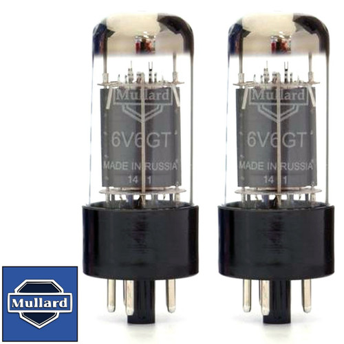brand new mullard reissue 6v6 6v6gt current matched pair (2) vacuumwrite a review