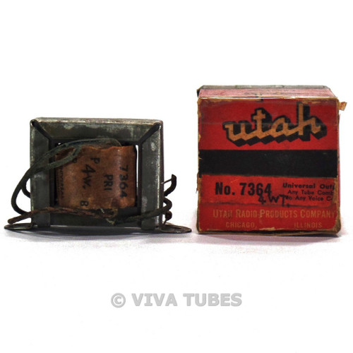 NOS NIB Utah 7364 Universal Tube Amplifier Output Transformer 4W