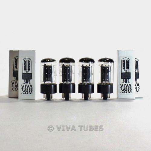 True NOS Matched Quad 4 Matsushita (Japanese Mullard) GZ34/5AR4 Vacuum Tubes