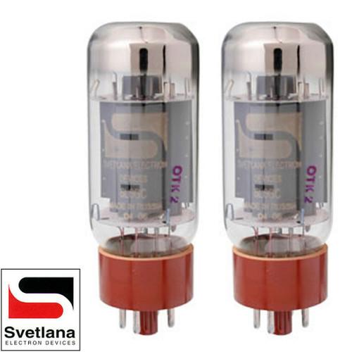Brand New Plate Current Matched Pair (2) Svetlana SV-6L6GC Vacuum Tubes
