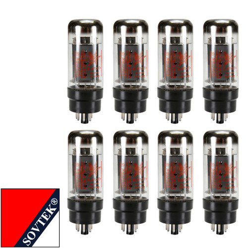 Brand New Current Matched Octet (8) Sovtek 6L6WXT+/ 6L6GC  Vacuum Tubes