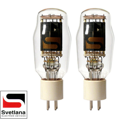 Brand New Factory Matched Pair (2) Svetlana SED SV-811-3 Vacuum Tubes