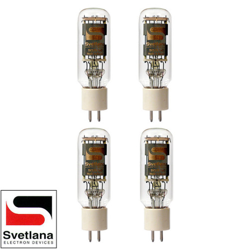 Brand New Factory Matched Quad (4) Svetlana SED SV-572-160 Vacuum Tubes