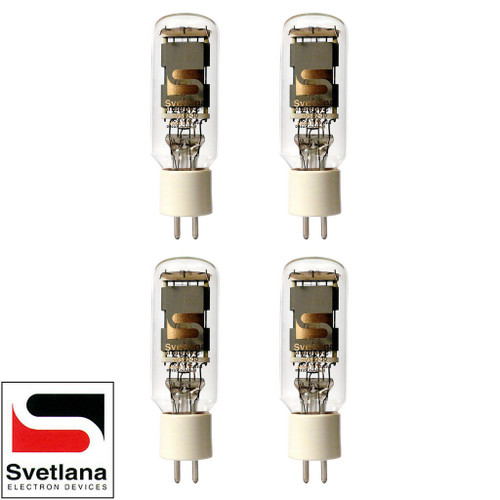 Brand New Factory Matched Quad (4) Svetlana SED SV-572-30 Vacuum Tubes