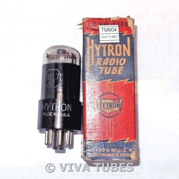 NOS NIB Hytron [CBS] USA 32L7GT Plate Get Smoked Glass Vacuum Tube 100+%