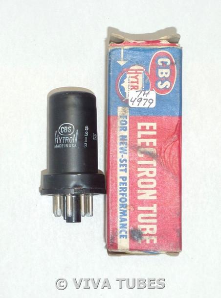 NOS NIB CBS Hytron USA 12SH7 Metal Vacuum Tube 100+%