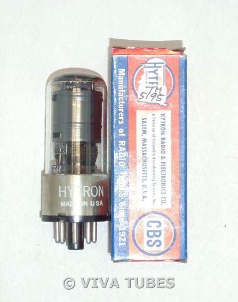 NOS NIB Hytron USA 12SK7GT Grey Plate Top [] Get Vacuum Tube 100+%