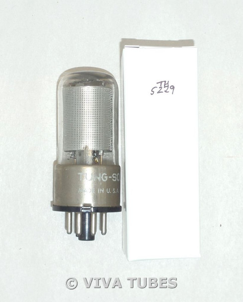 NOS Tung Sol USA 12SK7GT Silver Mesh Plate Top [] Get Vacuum Tube 100+%