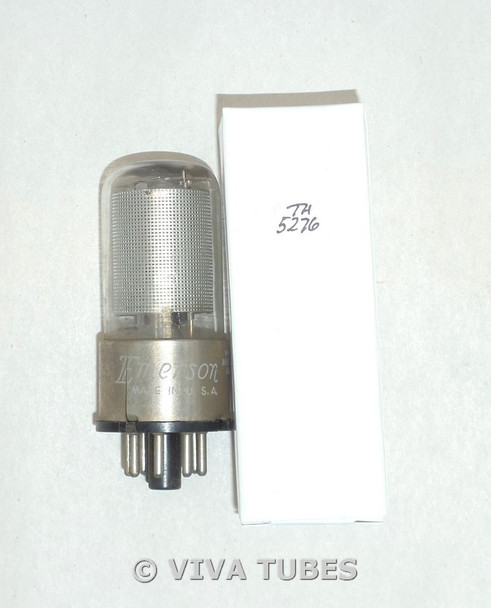 NOS Tung-Sol USA 12SK7GT Silver Mesh Plate Top O Get Vacuum Tube 100+%