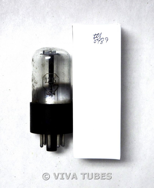 NOS Tung-Sol USA 12J5GT Black Round Plate D Foil Get Loose Base Vacuum Tube