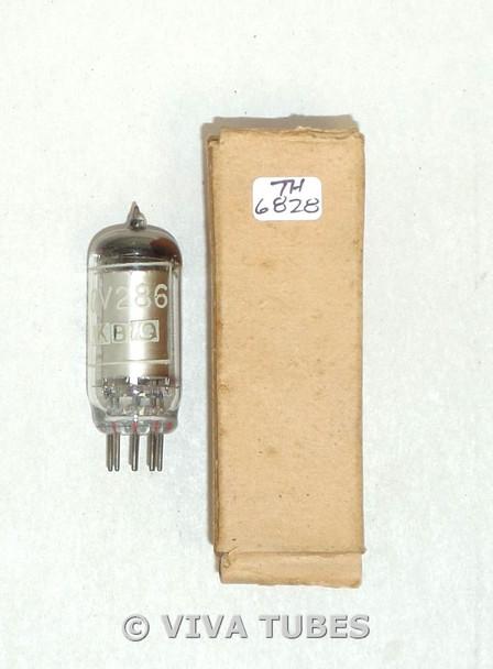 Mullard Britain CV286/95A1 Silver Plate Voltage Regulator Vacuum Tube
