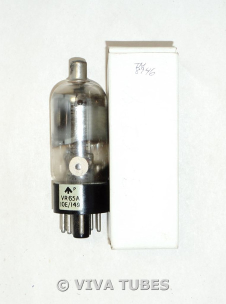 Vintage USA VR65A/10E/149 Plate Barrel Get Vacuum Tube