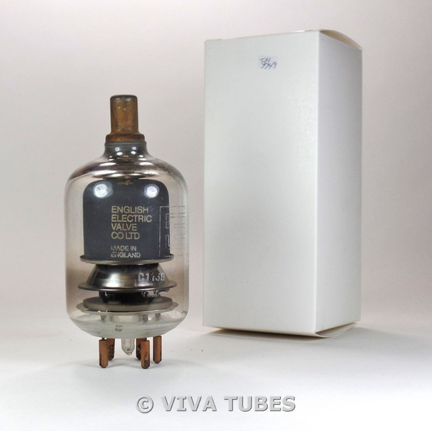 English Electric Valve England C1136/4-400A Industrial Transmitter Vacuum Tube