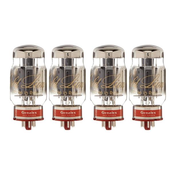 New Matched Quad (4) Genalex Gold Lion KT88 Reissue  Vacuum Tubes