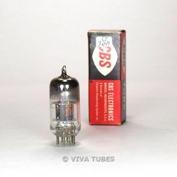 True NOS NIB CBS-Hytron USA 6BK7B Black Plate Top [] Get Vacuum Tube 100+%