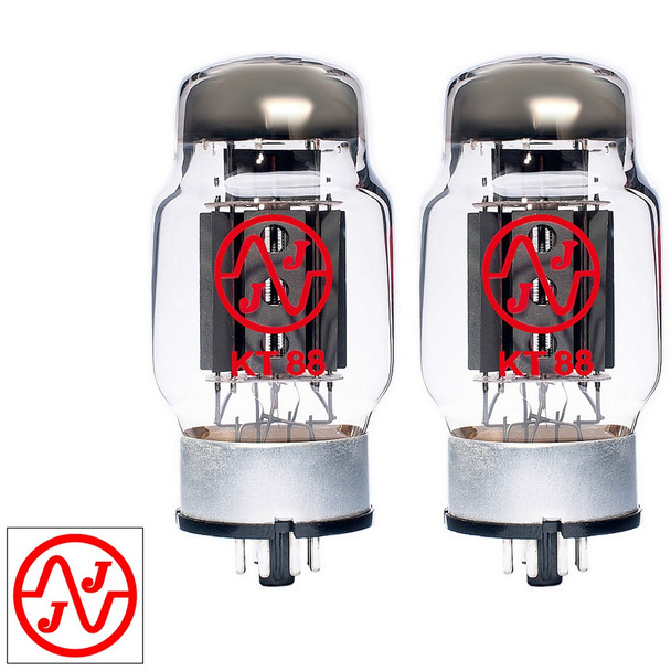 New Current Matched Pair (2) JJ Electronic KT88 (ST Shape) Vacuum Tubes