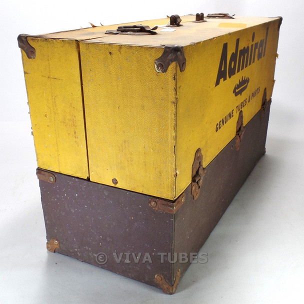Admiral, Vintage Radio TV Vacuum Tube Valve Caddy Carrying Case