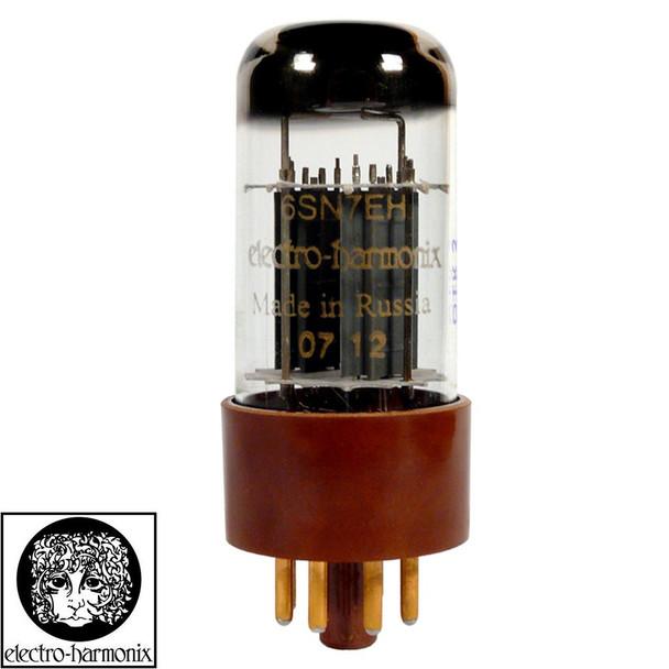 Brand New Gain Tested Electro-Harmonix 6SN7 Gold Pins Vacuum Tube