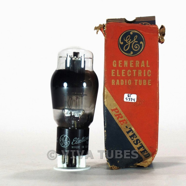 True NOS NIB GE USA 6L6G Smooth Grey Plate [] Get Smoked Vacuum Tube