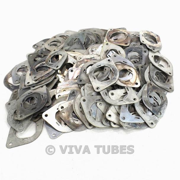 Vintage Lot of 223 Metal Vacuum Tube Socket Retainer Spacer Washers