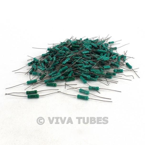 Vintage Lot of 269 Hi-Q RN70C/RN70E/RN70F Small Wire Wound Ceramic Resistors