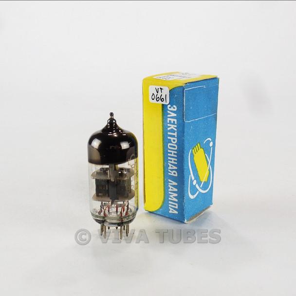 True NIB NOS Reflector Russia 6N23P-EV 6922 6DJ8 Grey Plate O Get Vacuum Tube