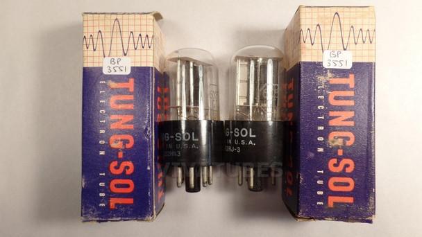True NOS NIB Matched Pair Vintage Tung-Sol USA 6X5GT [] Get Tubes