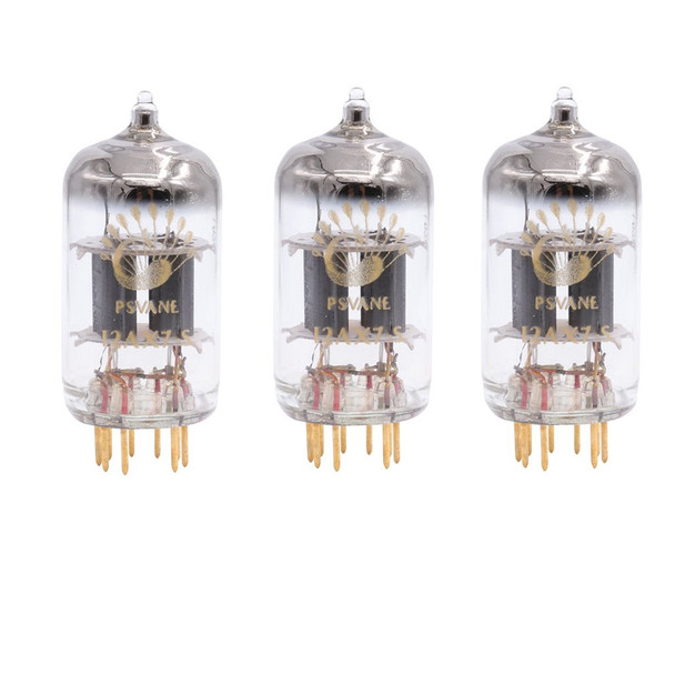 Gain Matched Trio (3 ps) Psvane 12AX7-S ECC82 Art Series Vacuum Tubes - Gold Pins- Brand New