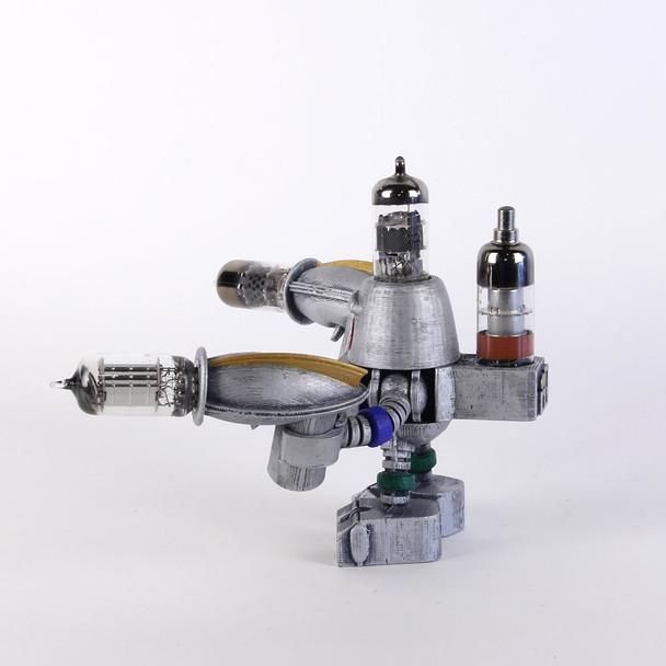 Handcrafted Vacuum Tube Robot Figurine - Medium - Roberto