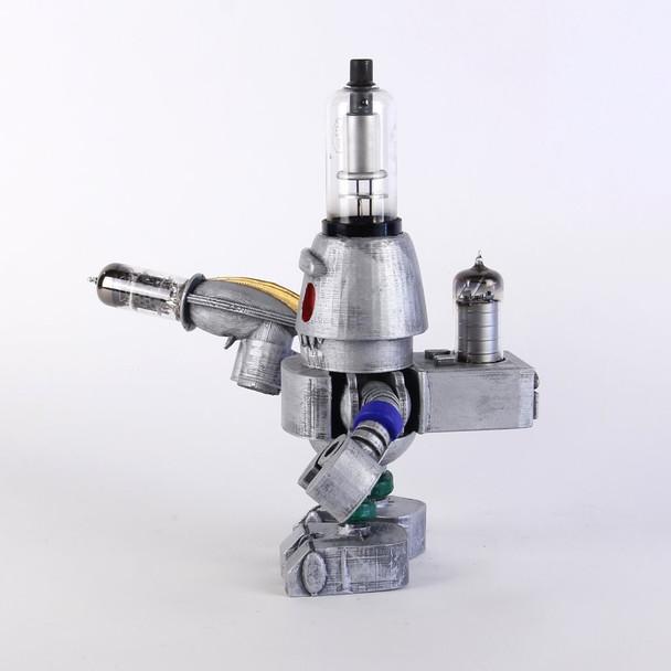 Handcrafted Vacuum Tube Robot Figurine - Large - Roberta