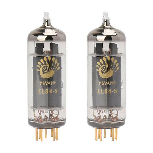 New Ip Matched Pair Psvane EL84-S Art Series Vacuum Tubes