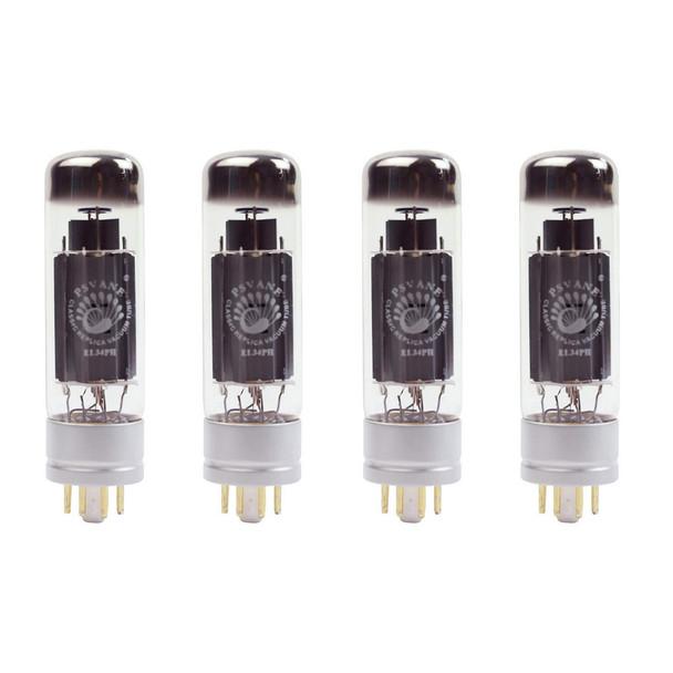 New Ip Matched Quad Psvane EL34PH Metal Base Philips Replica Vacuum Tubes