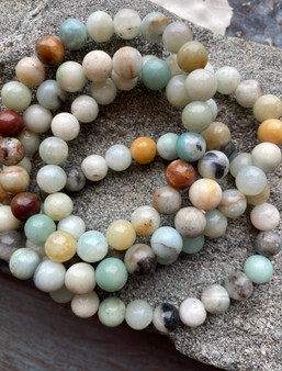 Amazonite Bracelet - large bead