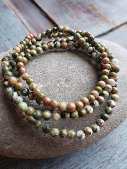 Autumn Jasper Crystal Bracelet