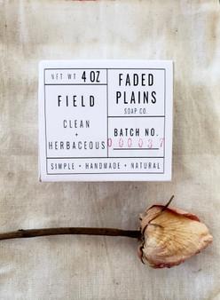 Field - Clean & Herbaceous Soap