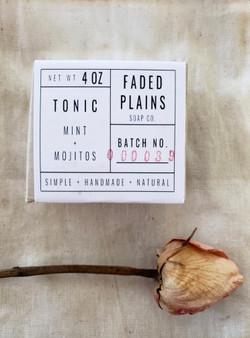 Tonic - Mint & Mojitos Soap