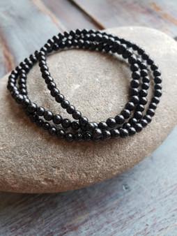 Black Tourmaline Crystal Bracelet