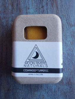 Cedarwood + Turmeric Soap