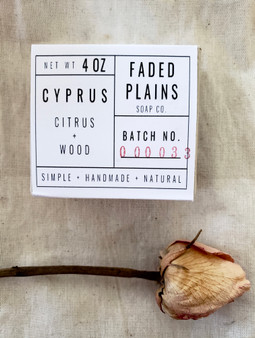 Cyprus - Citrus & Wood Soap