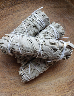 White Sage Smudge Stick 4""