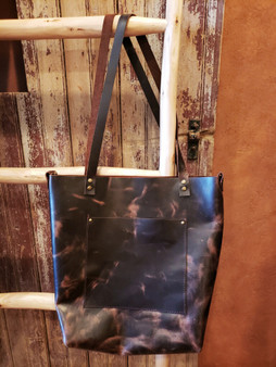 Expresso Brown Leather Tote
