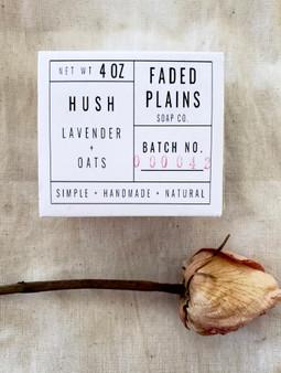 Hush - Lavender & Oats Soap