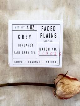 Grey - Bergamot & Earl Grey Tea Soap