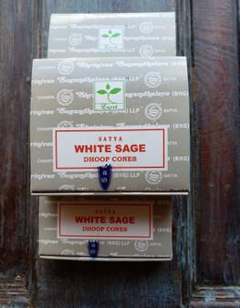 White Sage Dhoop Cones