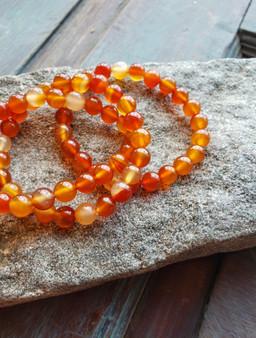 Carnelian Bracelet (large beads)