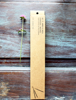 Amber & Moss Charcoal Incense