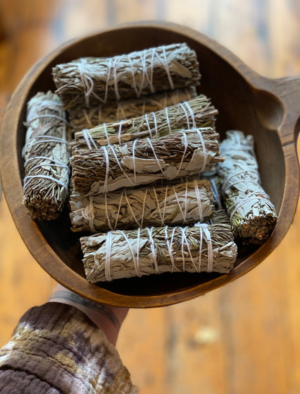 White Sage & Rosemary Smudge Wands